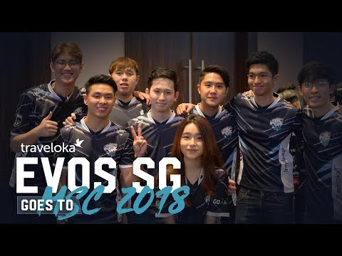 Mobile Legends SINGAPORE GOES TO MSC 2018