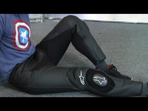 823ba2e34a7824 Alpinestars Missile Leather Pants | Motorcycle Superstore - YouTube