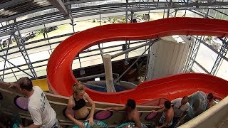 Blackbeard's Twister Water Slide at Schlitterbahn South Padre Island