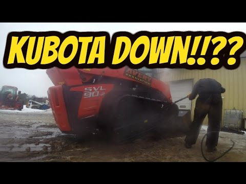 Test 1! KUBOTA SVL90-2 How fast can it move 20 yards & Overall