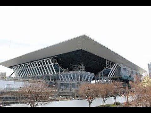 海の森、カヌー会場は7割完成 東京五輪施設を報道公開(2019年2月12日 )