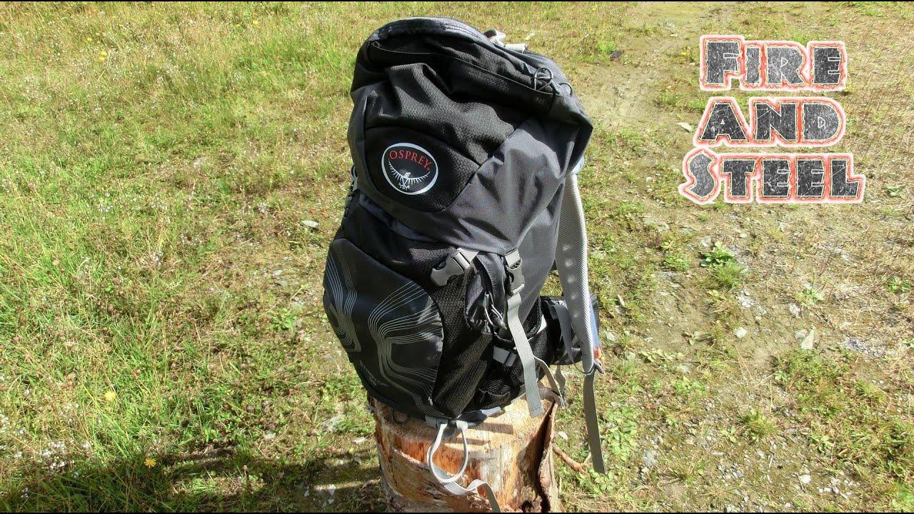 Review  Osprey Stratos 36  Youtube