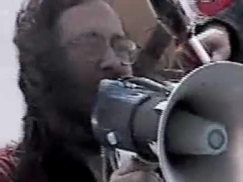 Richard Stallman (RMS) and Bruce Perens - DMCA Protest 2001 San Francisco