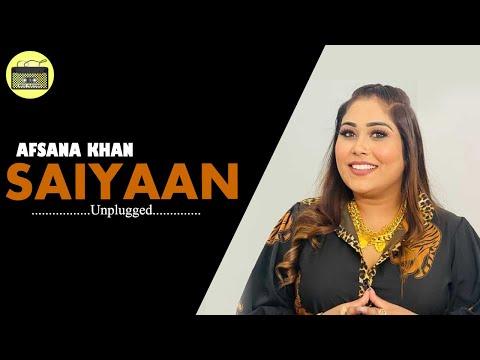 AFSANA KHAN - SAIYAAN | Unplugged | Acousitic | 2018 | Full HD 1080p