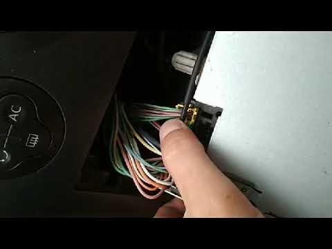подключаем флешку к штатной магнитоле рено меган 2