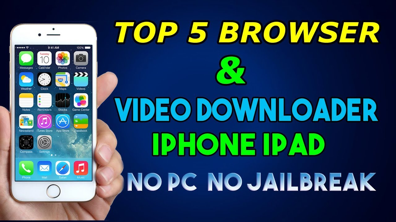 best browser for iphone top 5 browsers amp downloader for iphone no pc 13570