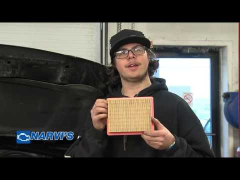 Auto Tips: Replacing the air filter
