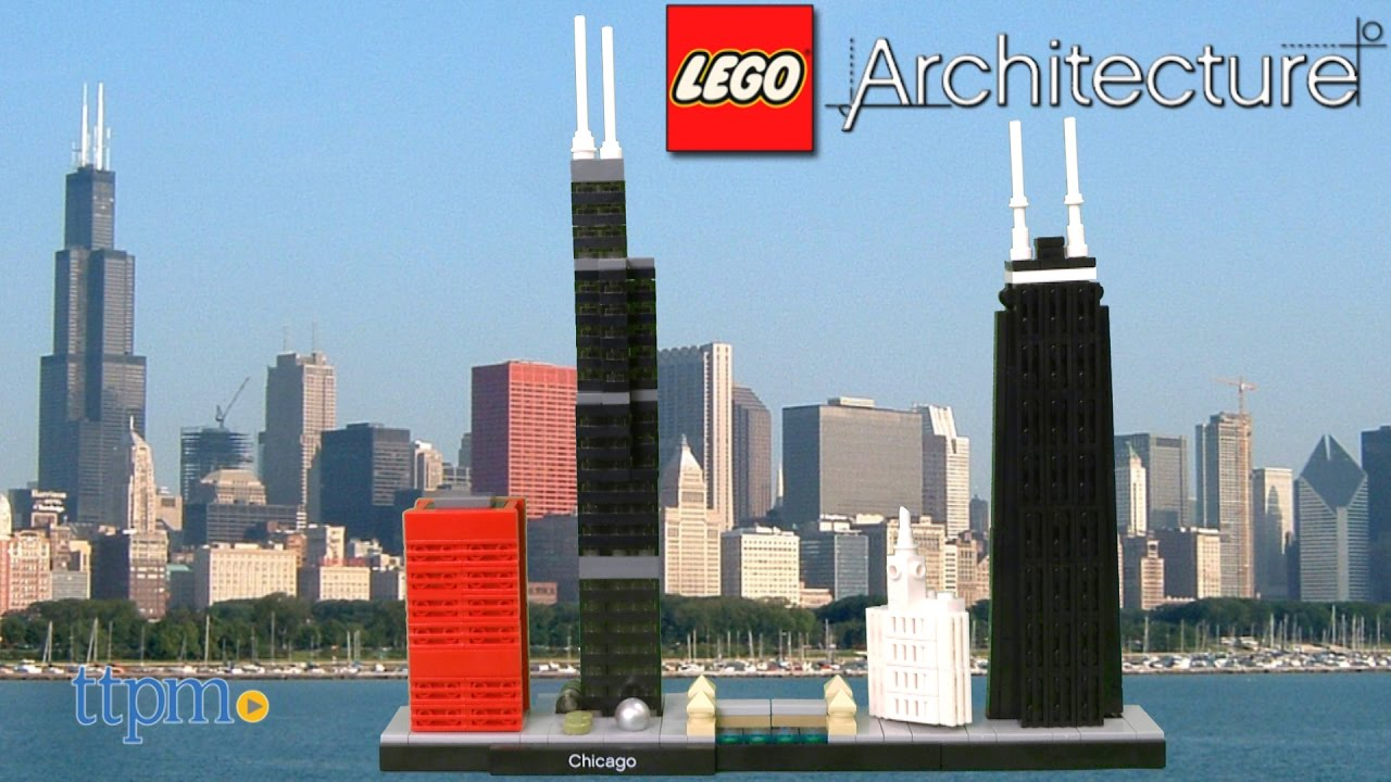 Lego Architecture Chicago From Lego Youtube