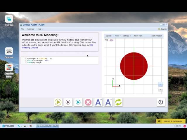 NCLab 3D Modeling: RING