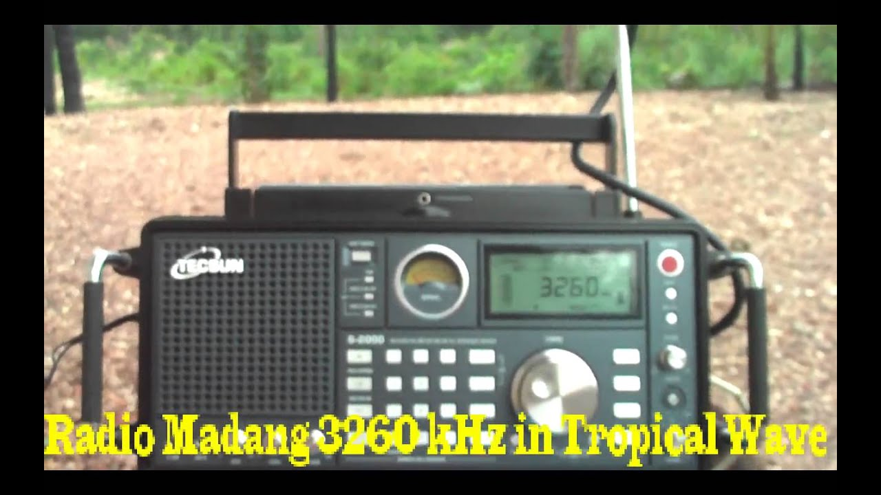 3260 Khz Nbc Radio Madang Province Papua New Ic 484 Am Receiver Guinea
