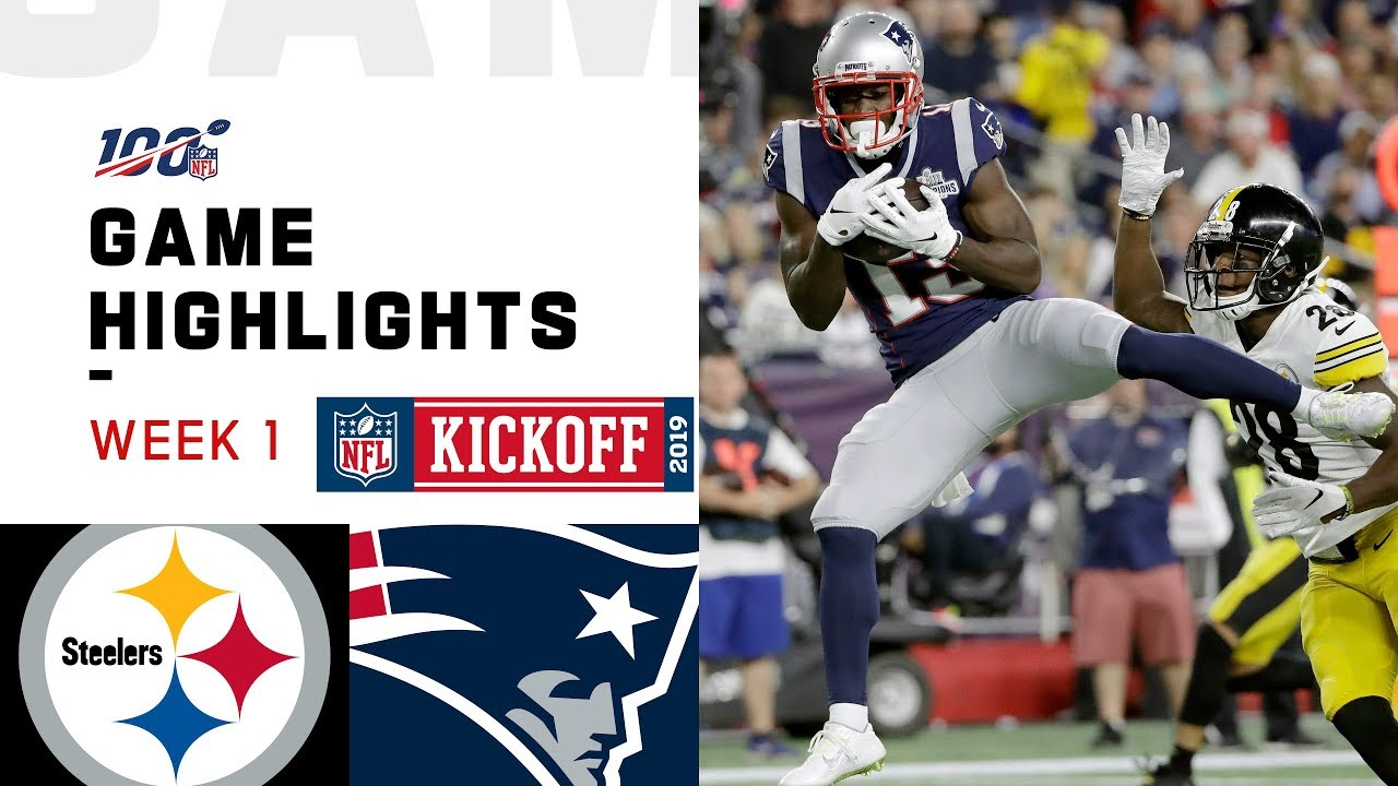 Steelers vs. Patriots Week 1 Highlights | NFL 2019 image