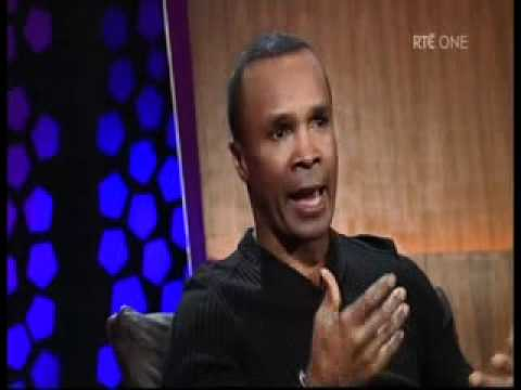Sugar Ray Leonard Interview on The Late Late Show 2012