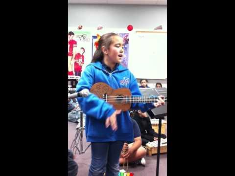 Elli's Choir Solo in the 3rd grade Choir at Dr. C. Owen Roundy Elementary School