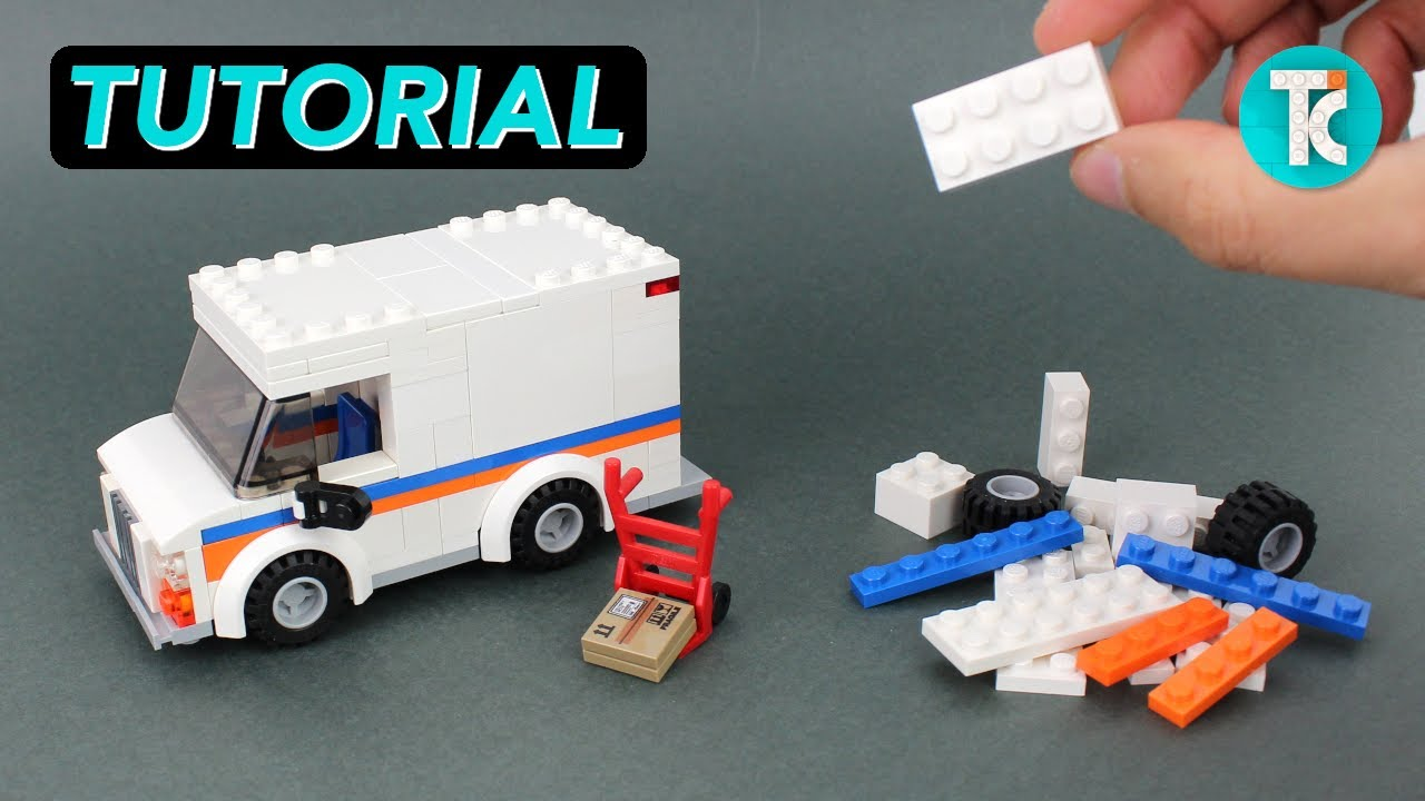 LEGO Delivery Truck (Tutorial)