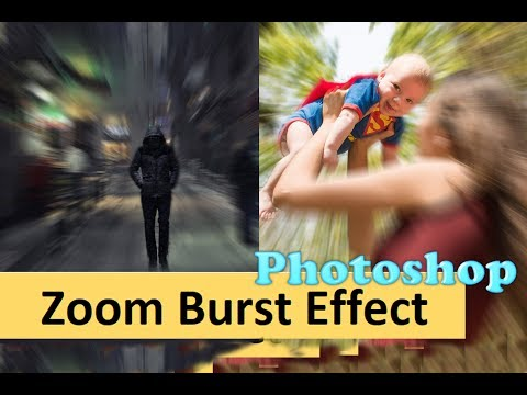 Zoom Burst / Motion Blur effect in Photoshop ( Easy Tutorial ) thumbnail