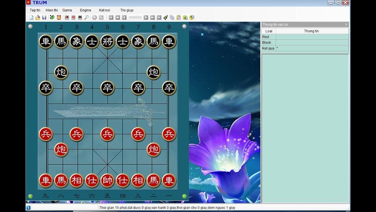 SW Cờ TG VnChessMaster V3.3 – Gui XQMS Viet hoa full OngTrum giải 1 số thế đơn giản