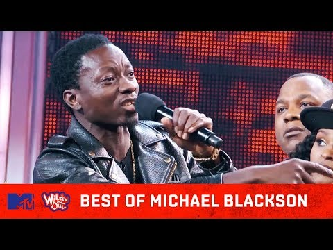 Best Of Michael Blackson  Come Backs, Funniest Disses, & MORE! | Wild 'N Out