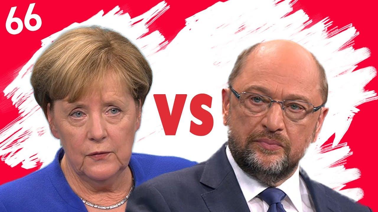 Merkel VS Schulz im TV-Duell zur Bundestagswahl 2017 - Die ...