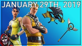 *NEW* Whiplash Skin Set! January 29th New Skins || Daily Fortnite Item Shop