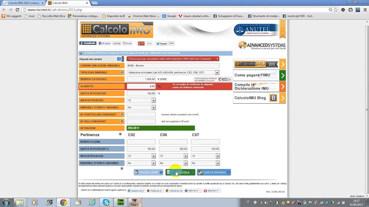 SOFTWARE F24 ONLINE SCARICARE
