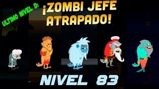 ZOMBIE CATCHERS | Nivel 83 | Atrapando a los zombies jefes (Actualización)