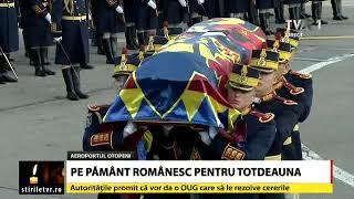 Regele Mihai I a ajuns pe pamant romanesc pentru totdeauna