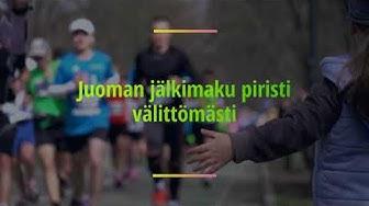 """""""GingerMACA on paras käyttämäni urheilujuoma maratonilla"""