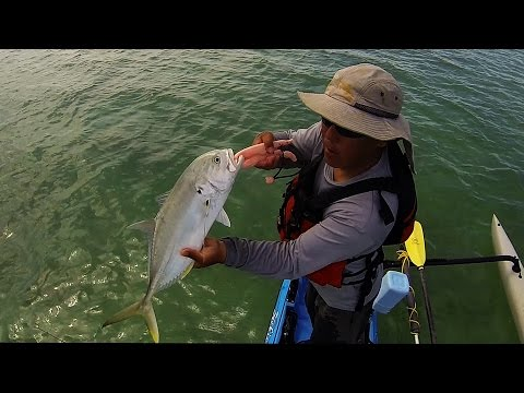 Key west kayak fishing everything but a tarpon youtube for Key west kayak fishing