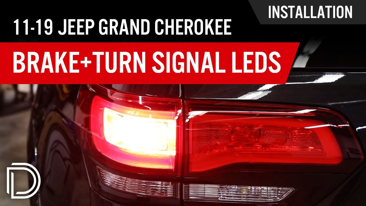 How To Install 2011 2016 Jeep Grand Cherokee Brake Turn Signal Wiring A Indicator Relay Leds
