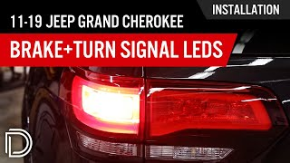 How to Install 2011-2016 Jeep Grand Cherokee Brake & Turn Signal LEDs