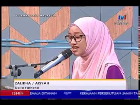 Full Zalikha ft Aisyah Cover by Dalia farhana