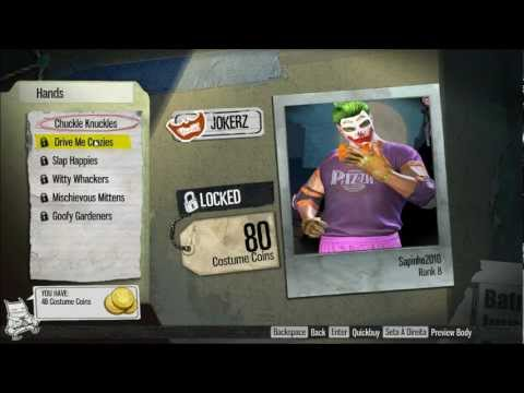 Gotham City Impostors - Character Customization HD