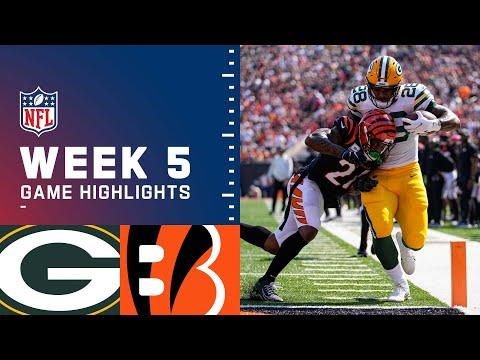 Packers vs. Bengals Week 5 Highlights | NFL 2021