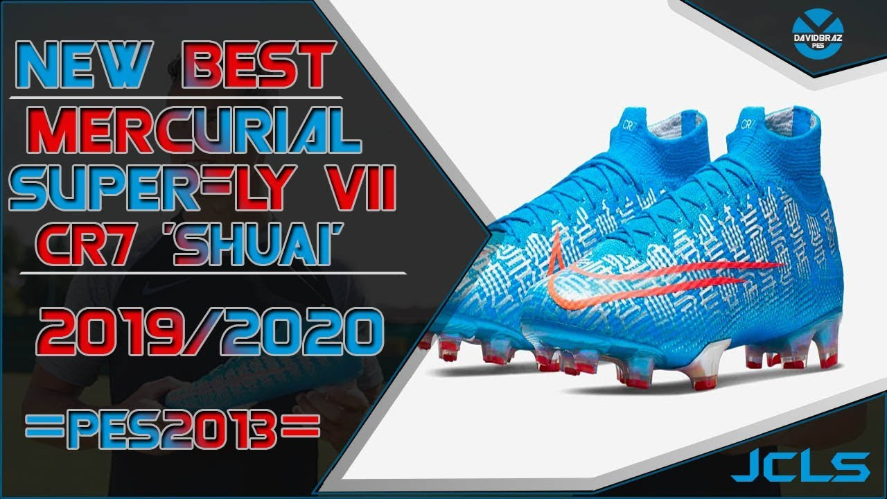 Cr7 New Shoes 2020 PES 2013 | New Boots • Nike Mercurial Superfly