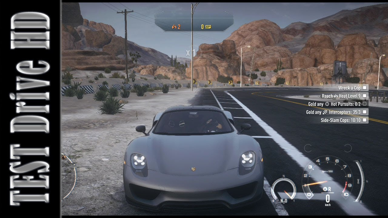 Porsche 918 Spyder Need For Speed Rivals Test Drive