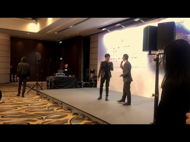 Noo Phước Thịnh phát biểu tại họp báo Hong Kong Asian-Pop Music Festival 2018