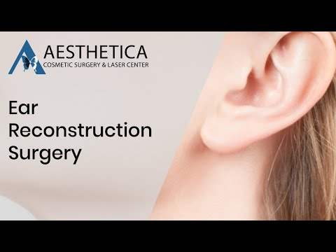 Ear Reconstruction Surgery Live Video