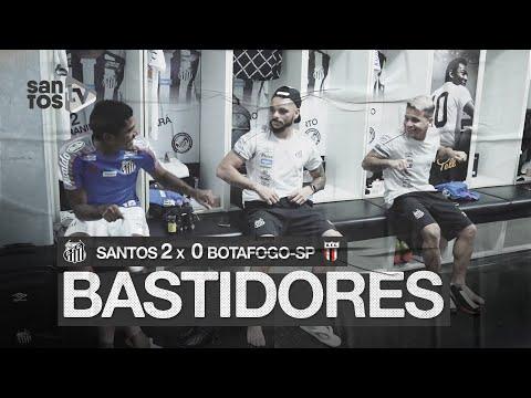 SANTOS 2 X 0 BOTAFOGO-SP | BASTIDORES | PAULISTÃO (10/02/20)