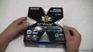 игровая мышь A4Tech X7 XL-750BK. Распаковка, обзор