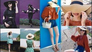 Summer 2018 Hat Trends & Statement Straw Hat Lookbook 2018