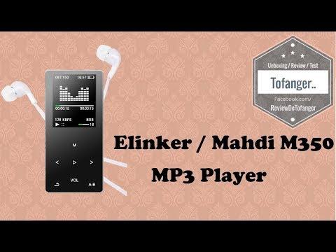 Elinker ou Mahdi M350 : lecteur MP3 et MP4