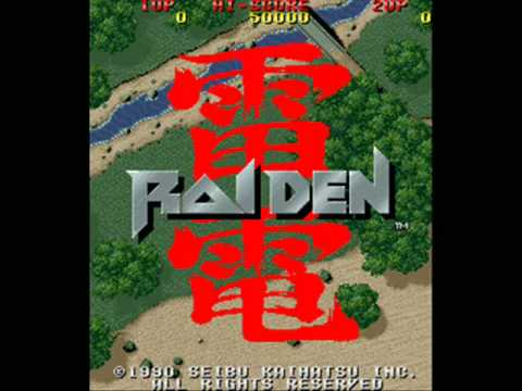 Raiden Arcade Stage One Music