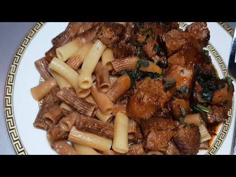 Жареные Макароны по - Армянски с вкусной Мясной  подливой 👍👍на обед или ужин🥰🥰