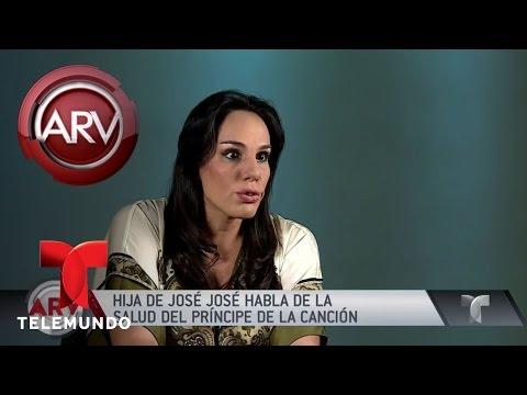 Hija de José José habla del cáncer de su padre | Al Rojo Vivo | Telemundo