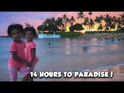 14 Hours to Disney Paradise! (Hawaii vlog!)