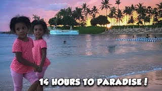 14 Hours to Disney Paradise! (Hawaii vlog!)
