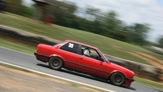 bmw m3 swapped 1989 325i e30 lapping at ncc bmwcca hpde summit point main session 2 5 12 2013