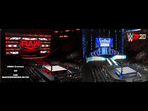 Raw & Smackdown On Fox Arenas Now On Community Creations (XB1)