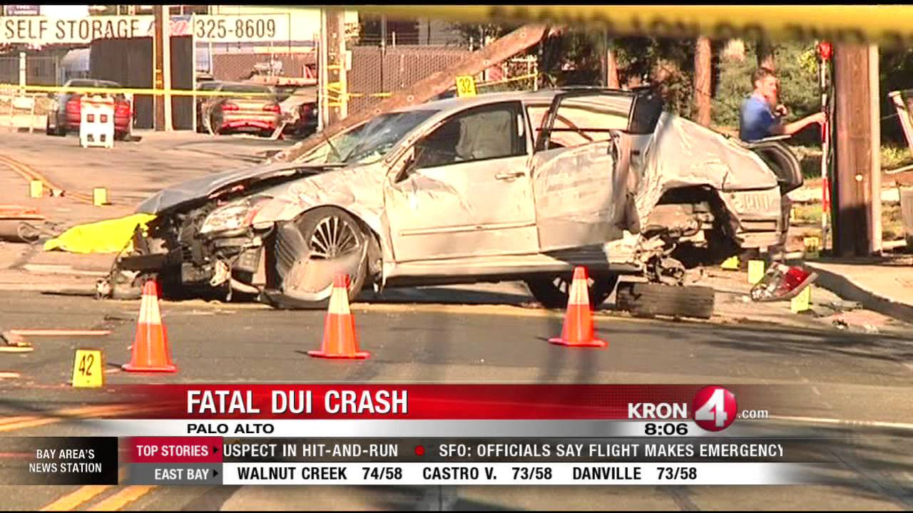 fatal accident closes bayshore alongside 101 in palo alto - youtube