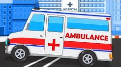 Krankenwagen | Fahrzeug Videos | Ambulance | Kids TV Channel Deutschland | Deutsch Kinderlieder